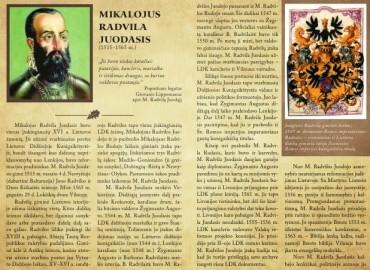 M. Radvila Juodasis – didysis XVI a. reformacijos judėjimo globėjas Lietuvoje ir evangeliško tikėjimo teiginių, tyros sąžinės, tikėjimo laisvės gynėjas