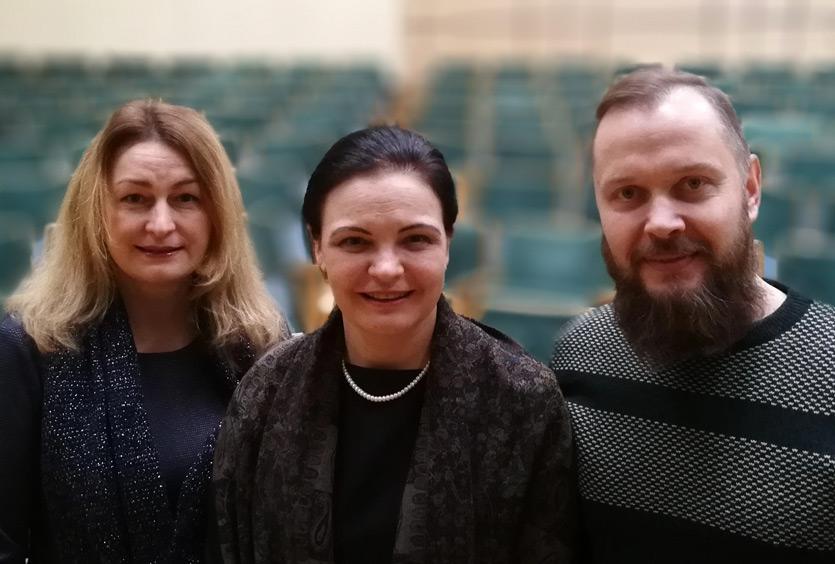 Gražina Montvydaitė, Anželika Krikštaponienė, Aidas Krikštaponis
