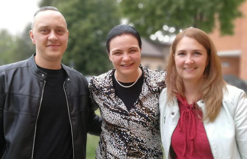 Anželika Krikštaponienė, Faustas Prakapavičius ir Kristina Žičkienė