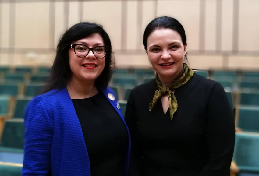 Jolanta Chlevickienė ir Anželika Krikštaponienė