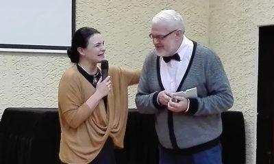 Anželika Krikštaponienė ir Gediminas Beržinis