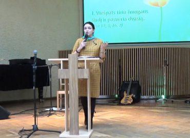 Pamokslas | 2019 10 13 | Anželika Krikštaponienė | Gyvenimas po Viešpaties akimis