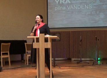 Pamokslas | 2019 10 06 | Anželika Krikštaponienė | Dievo upė yra pilna vandens