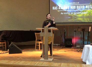 Pamokslas | 2019 11 03 | Kas atskirs nuo Dievo meilės?